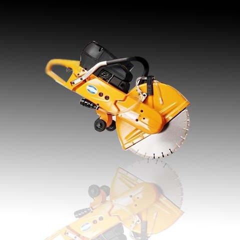 Portable concrete saw | Hand-held concrete cut-off saw | handheld concrete saw