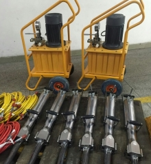 Hydraulic rock splitters | Hydraulic concrete splitter | rock splitter | concrete splitter
